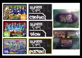 Stick Up Kids - Graffiti Cards by Cheps-Oner