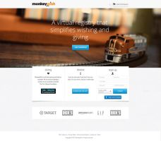 Monkeywish web design. by RasonDesign