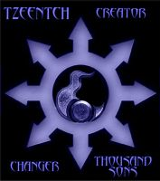 Mark of Chaos 4 - Tzeentch by Warhammer-Fanatic