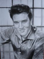 Elvis Presley Drawing by loaded88