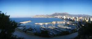Calpe Harbour Panorama by Zola85
