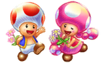 Mario Kart Arcade GP 2: Toad and Toadette by Legend-tony980