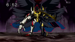 Darkness Bagramon El Angel Caido (Full Body) by JemesMoriarty