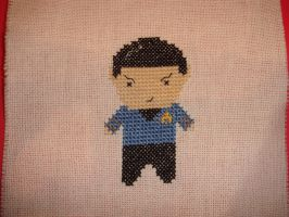 Mr. Spock mini by Quetzal-Zotz