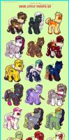 Yoouurr Little Ponies by zugestimmt
