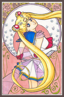 Nouveau Sailor Moon by rei-0