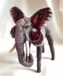 Fetherweight - Cecropia Elephant by LuxDani