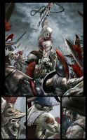 God of War: Chains of Olympus by el-grimlock