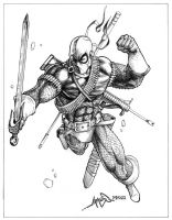 Deathstroke by jamesq