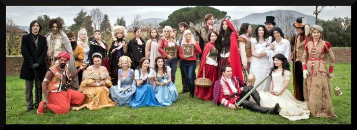 Big group Once Upon a Time by Elisa-Erian