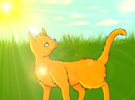Firestar's Morning by Kaotheroogoncreator