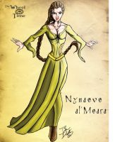 The Wheel of Time:  Nynaeve by darlinginc