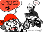 Villains on training wheels by KlonoaOfTheWind