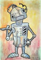Robot 1 by Andyk77