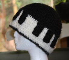 Piano Hat by CreativeExcess