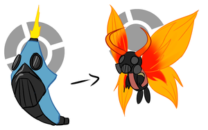 CaterPyro's Evolution by Py-Bun