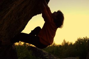 Bouldering by IdaSP