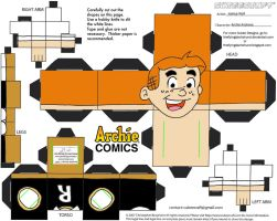 Archie1: Archie Andrews Cubee by TheFlyingDachshund