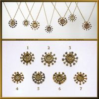 Steampunk Clockwork Pendants by Meowchee