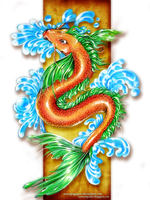 Koi Dragon by annoyingayon