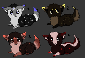 Baby Puppy Adopts 1: CLOSED by Akari-Adopts