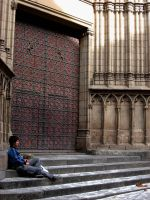On the Cathedrall Steps by lovevigilanti