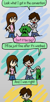 Creeper Shirt by Mythical-Human