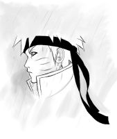 Naruto in the rain by Luisabel123