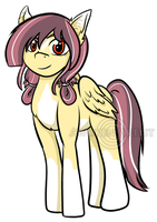 Pony Commission: Nate and Solars Daughter by AnimeEmm