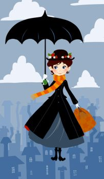 Mary Poppins by OlayaValle