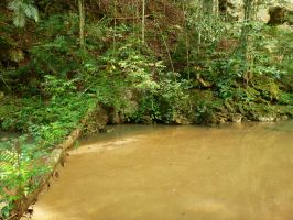 Cave River 2 by xGlassRaindropsStock