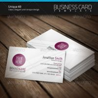 Unique Business Card 3 by artnook