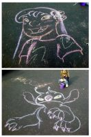 Chalk Fun by LittleTiger488