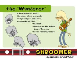 Shroomer- the Wanderer by Fyuvix