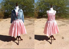 Rose Tyler's Idiot's Lantern Dress Vers. 3 by EssieofWho