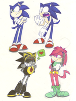 Sonic Sketch 3 by Weretoons101