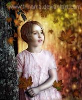 Autumn portrait by irinama