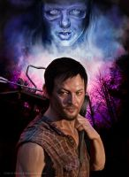 Norman Reedus - The Walking Dead by markdraws