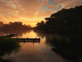 Lakeside by curious3d