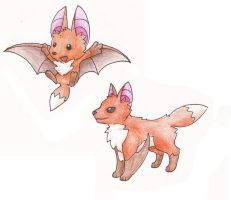 Flying Foxes by MetalReaper