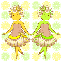 Citrus Sisters by RoughReaill
