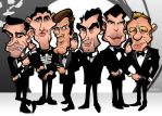 Six Faces of Bond by b1naryg0d