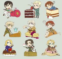 Hetalia: One Sweet World by amasugiru