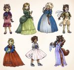 Catgirls up for adoption by TheBrassGlass
