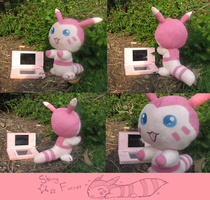 Poke' Plushies: Shiny Furret by Avon-Delta