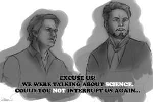 We Were Talking About SCIENCE by Ligers-mane