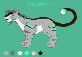 Jade Reference by LightningStrikeTwice