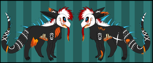 Dead Reference Sheet by SpunkyRacoon