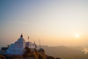 Anjaneya hill sunrise by juhku