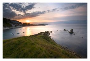 East Lulworth Sunrise by Neutron2K